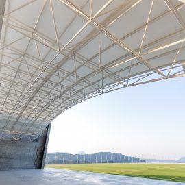 大分市 朝来野工務店 公共施設施工事例 のつはる天空広場ステージ