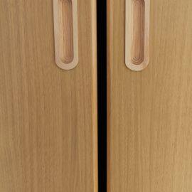 南大分保育園 安全に配慮したドア